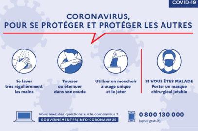 Infos coronna-virus
