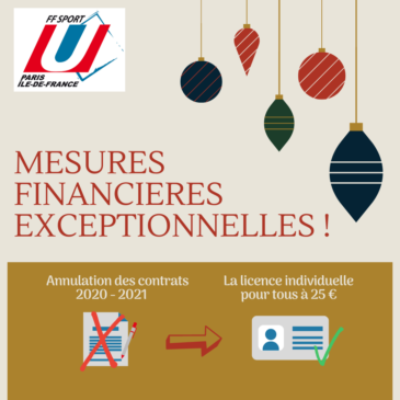Mesures Financières exceptionnelles