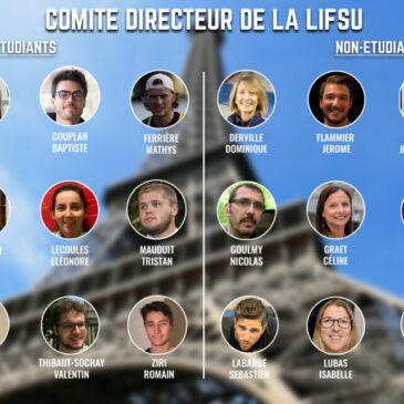 Le comité directeur de la LIFSU