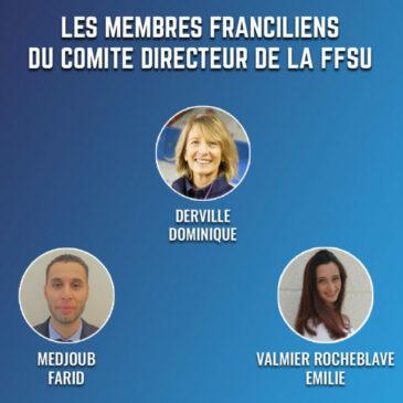 Les 5 Franciliens élus au Comité Directeur fédéral