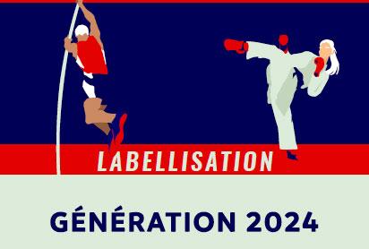 Labellisation Génération 2024 dans l'enseignement supérieur en Île-de-France – Promotion 2021