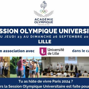 Session Olympique Universitaire 2021
