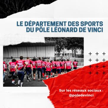 Le Département des Sports du Pôle Léonard de Vinci